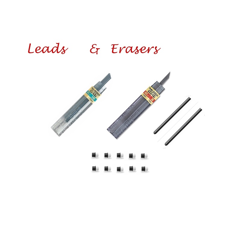 Pencil Refills (leads and erasers)