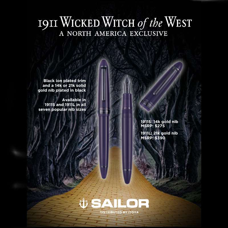 Sailor 1911 Wicked Witch of the West